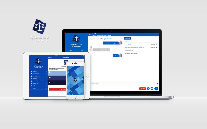 Wirtualny Prawnik - aplikacja webrtc